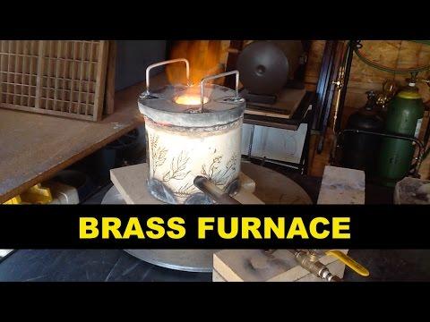 BRASS MELTING FURNACE - EZ BUILD