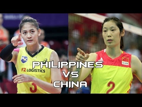 Philippines Vs China Volleyball Highlights, Scores And Statistics - Asian Games 2018
