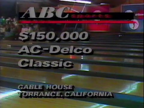 1989 PBA AC DELCO OPEN - ENTIRE TELECAST
