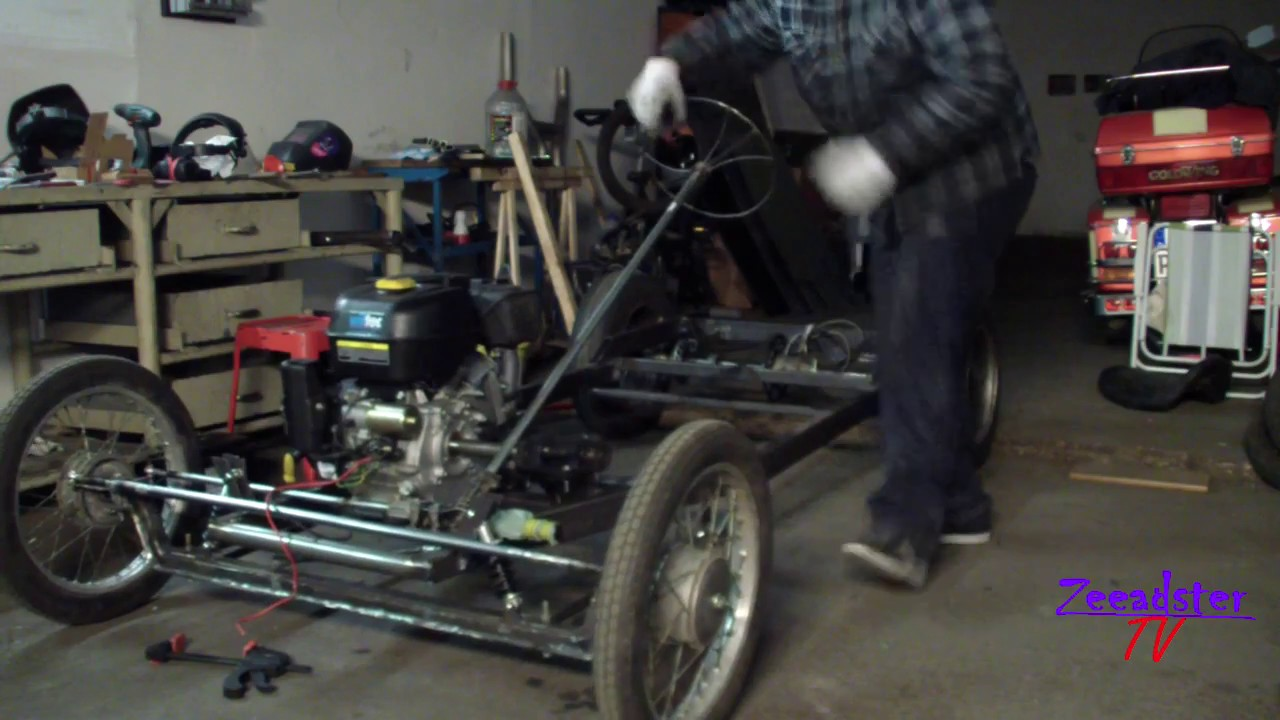 Diy Homemade Hot Rod Kart Its Alive Youtube