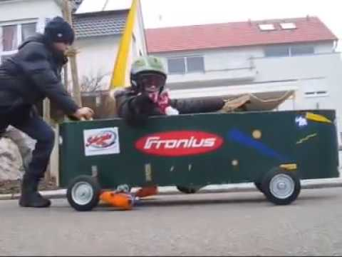 Jugend forscht 2013 - Soapbox Safety Brake - Notbremse für die Seifenkiste