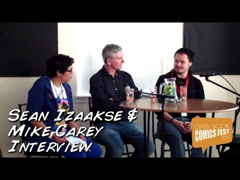 Cape Town Comics Fest 2014 - Interview with Mike Carey and Sean Izaakse