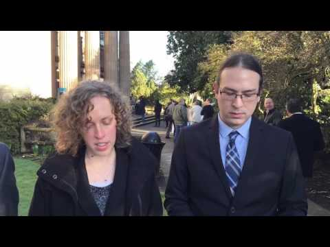 Animal Rights Advocates Deliver Statement