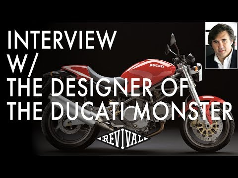 Interview with the designer of the Ducati Monster - Miguel Galuzzi