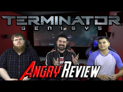 Terminator: Genisys Angry Movie Review poster
