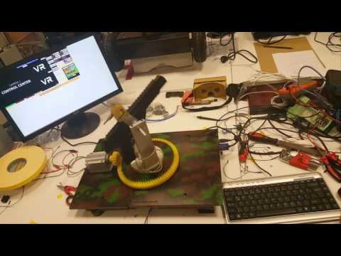 MEKATRON - Sanal Gerçeklik Tabanlı İnsansız Kara Aracı - VR BASED UGV - Graduation Project