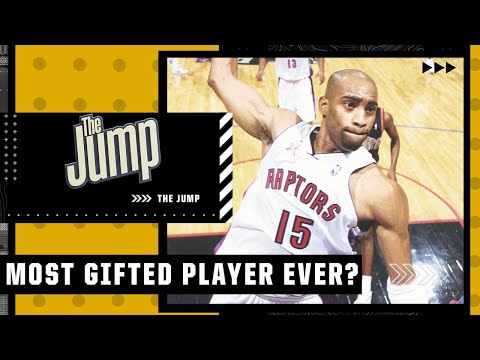 Is Vince Carter the most gifted basketball player EVER? | The Jump