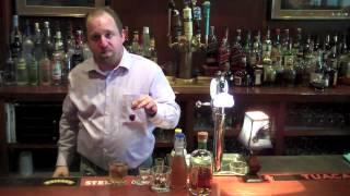Side Bar: Making A Classic Manhattan Cocktail At Stella's Restaurant