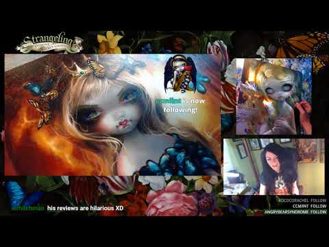 The Language of Flowers & Tiny Treasure from Strangeling:  The Art of Jasmine Becket-Griffith