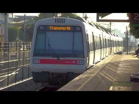 30 Minutes of Passenger Trains Across Australia