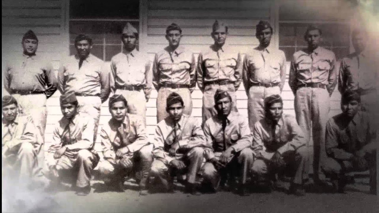 d day memorial wwii comanche code talkers youtube