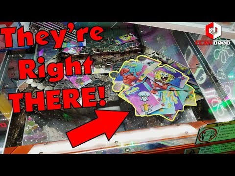 But They're Right THERE! | Spongebob Coin Pusher | RAPIDFIRE ACTIVATED | Make It Rain! | ClawD00d
