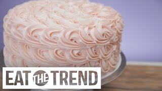 Magnolia Bakery's Tips to Frosting Their Rosette Cake | Eat the Trend