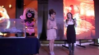 розыгрыш подарков на выставке и шоу программе Свадьба 2013 год в Одессе