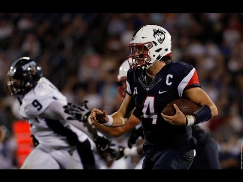2016 American Football Highlights - UConn 24, Maine 21