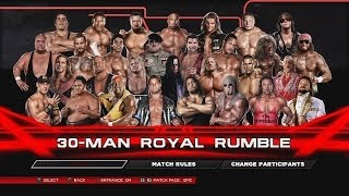 wwe 2k14 royal rumble match greatest superstars