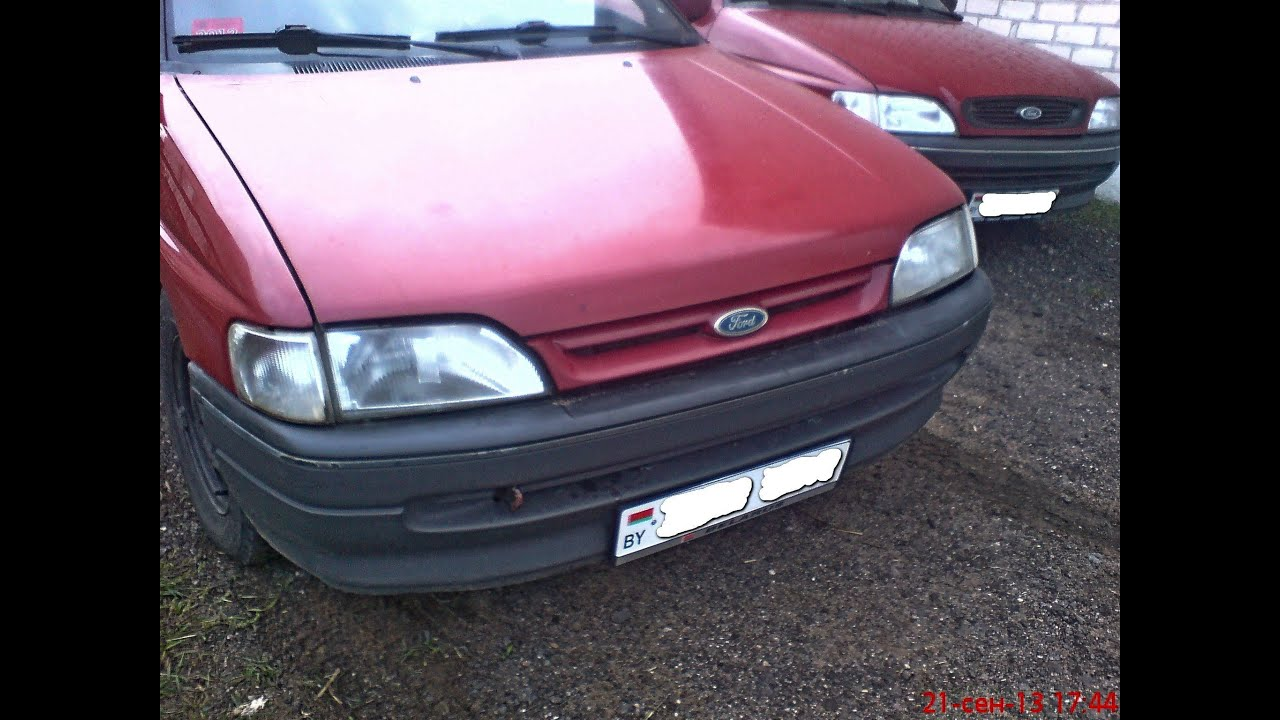 форд эскорт 1992 ремонт