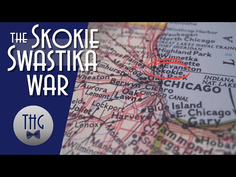 Skokie's battle, The Skokie Swastika War