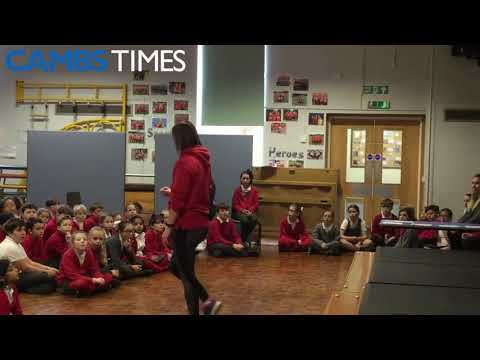 Alderman Jacobs pupils get a visit from the Mayor of Whittlesey | Cambs Times