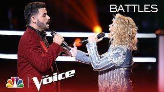 The Voice 2018 Battle - Justin Kilgore vs. Molly Stevens: Burning House