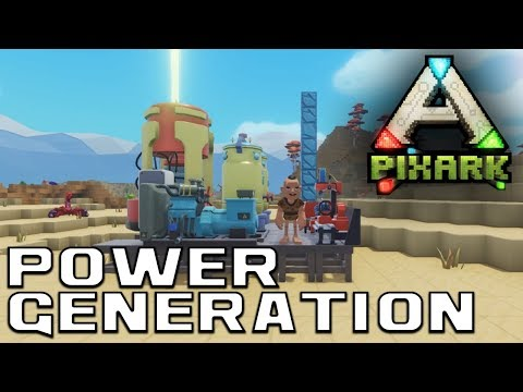 Power Generation | Industrial Skill Tree | PixArk Information