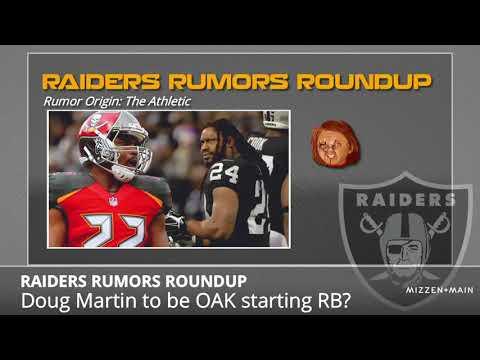Oakland Raiders Rumors: Doug Martin Starting Over Marshawn Lynch, Mychal Kendricks Visit