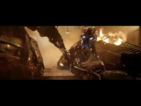 T 850 Terminator Terminator 3 T-850 VS. T-X part 2 - YouTube