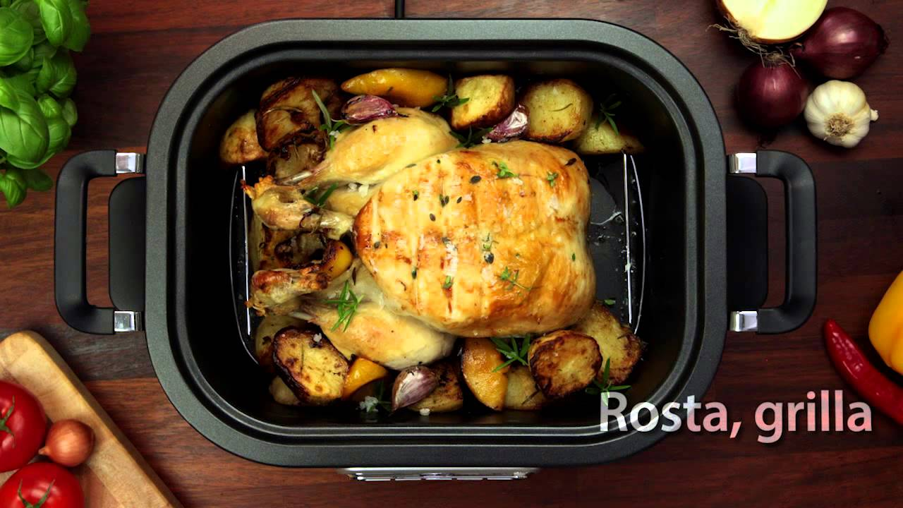 laga mat med slow cooker