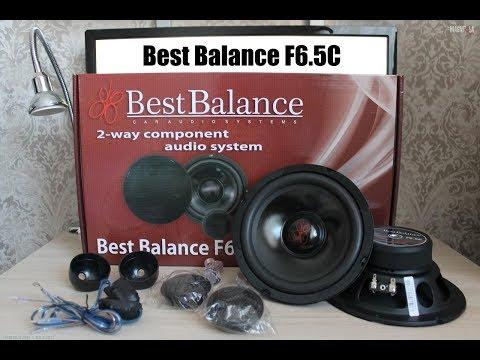 Обзор 2-х компонентной акустики Best Balance F6.5C