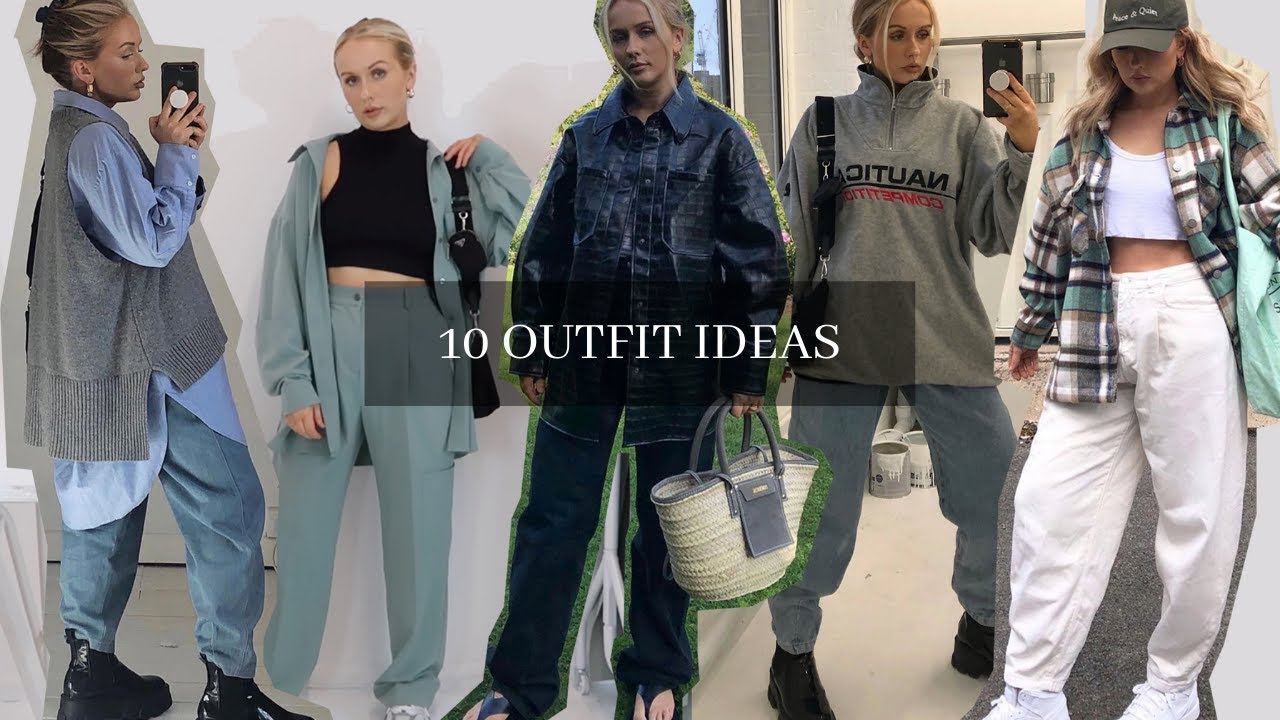 10 OUTFIT IDEAS | Everyday Autumn Looks, 2020 trends, Oversized Casual Style