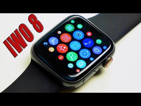 Лучшая Копия Apple Watch Series 4??? IWO 8 с Алиэкспресс