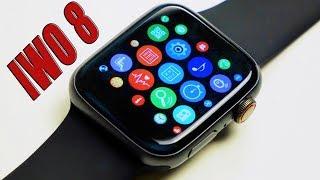 Лучшая Копия Apple Watch Series 4 IWO 8 с Алиэкспресс