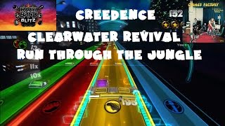 Creedence Clearwater Revival - Run Through the Jungle - @RockBand Blitz Playthrough (5 Gold Stars)