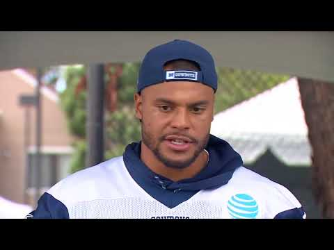 Dak's first comments on Zeke suspension