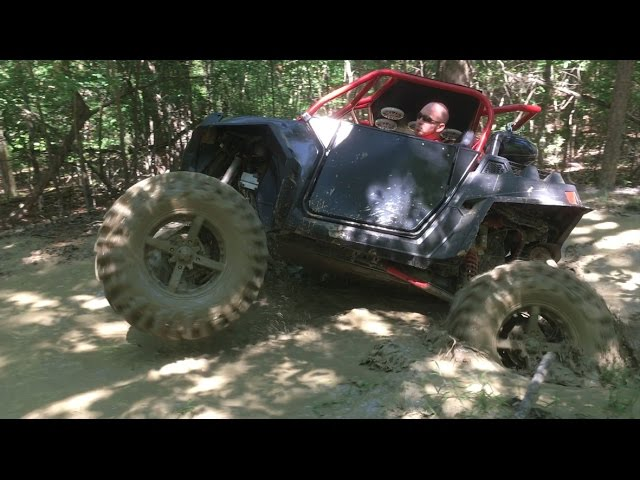 RZRs getting crazy at Enid Lake