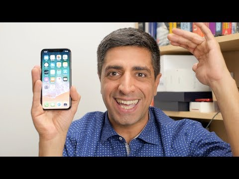 iPhone X hands-on [Greek]
