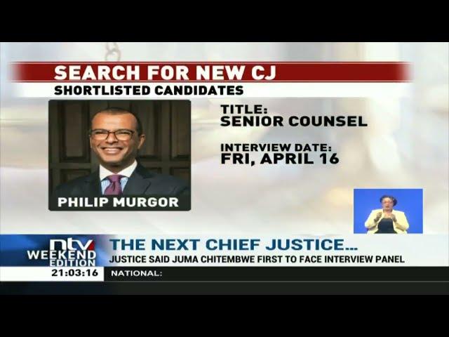 Judiciary set to begin three-week search for new CJ