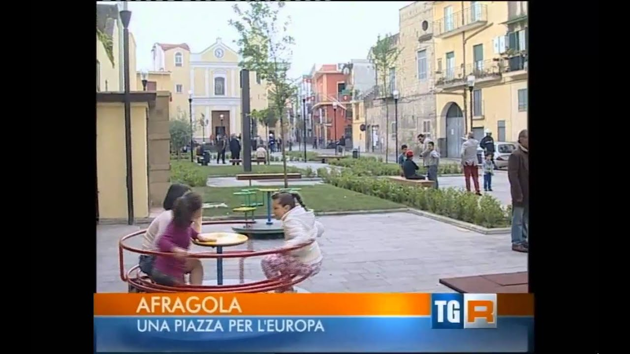 P i u europa ad afragola l 39 inaugurazione di piazza san for Ad arredamenti afragola