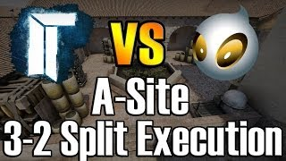 CS:GO TITAN vs Team Dignitas - de_inferno 3-2 Split A-Site Execution