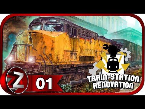 Train Station Renovation ➤ Дедушкина станция ➤ Прохождение #1