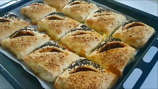 Kat Kat Çıtır Hazır Yufka Böreği(Kremalı Bohça Börek)