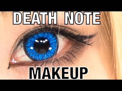 Death Note COSPLAY MAKEUP TUTORIAL Misa Amane by Japanese fashion model YOU | 遊さんデスノート弥海砂のコスプレメイク講座