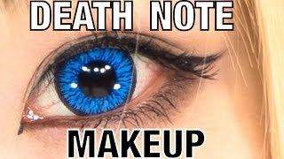 Death Note COSPLAY MAKEUP TUTORIAL Misa Amane by Japanese fashion model YOU | 遊さんデスノート弥海砂のコスプレメイク講座 Thumbnail
