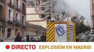 EN DIRECTO 🔴 EXPLOSIÓN en MADRID: 4 MUERTOS y 11 HERIDOS | RTVE Noticias