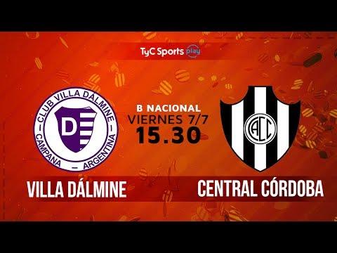 Primera B Nacional: Villa Dálmine vs. Central Córdoba (SdE) | #BNacionalenTyC