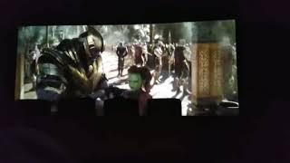 Thanks vs hulk fight scene leaked pick