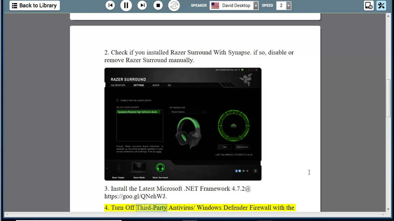 download razer synapse 2.0 windows 10