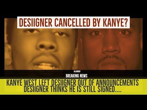 Kanye West CANCELS Desiigner: Desiigner Thinks He is Still on G.O.O.D. Music | Allegedly