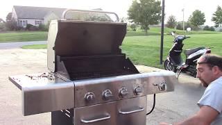 Gas Grill Valve Handle Repair:  Handles Are Stuck