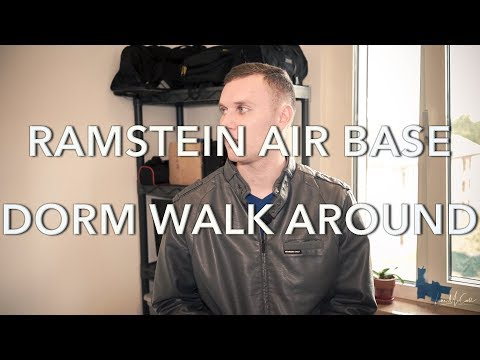 Ramstein Air Base Dorm Walk Around